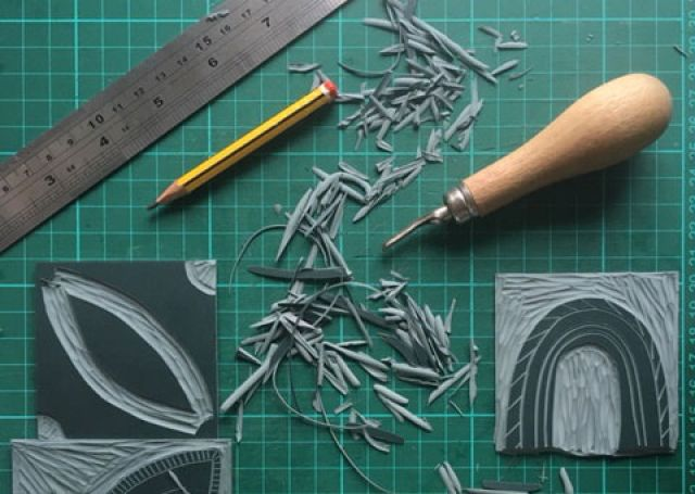Family Workshop: Lino printing
