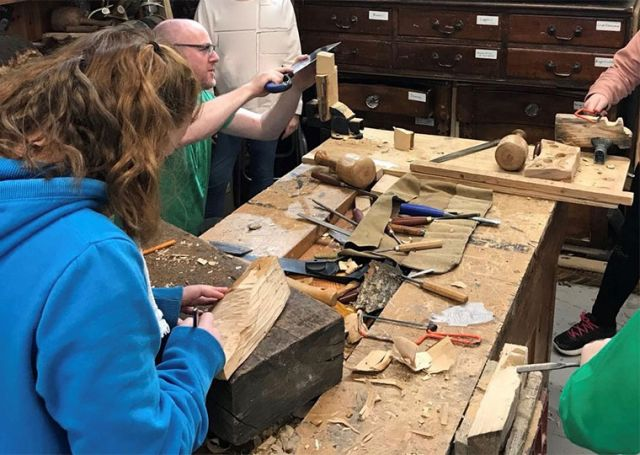 Family Workshop: Woodcarving