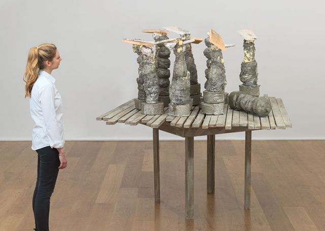 Phyllida Barlow: Sculpture and Drawings from the Leeds Collection