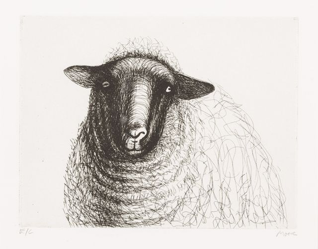 Henry Moore: SHEEP